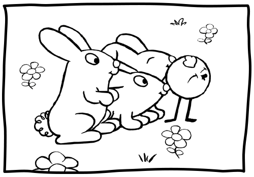 peep and quack coloring pages - photo#19